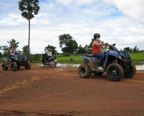 Red Dirt road Cambodia Trails